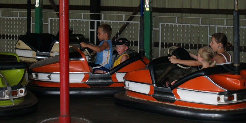 A Classic that never gets old - Bumper Cars!