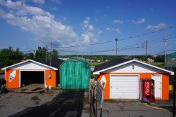 Snow Queen Leisure World: Green Storage Building