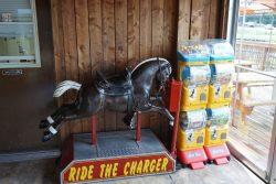 Snow Queen Leisure World: Antique Riding Horse